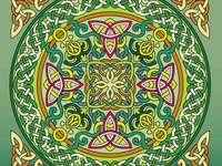 Mandala celtic design