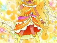 天宮愛蓮娜(太陽天使Cure Soleil) - 第十六部星光閃亮光之美少女主角之一,初次看見星奈光等人戰鬥時因驚慌�