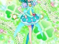 羽衣拉拉(銀河天使Cure Milky) - 第十六部星光閃亮光之美少女主角之一,出身於星空界沙曼星的外星人,ID�
