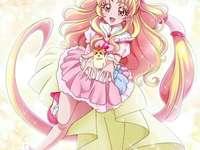 抱抱(明日天使Cure Tomorrow) - 第十五部HUG!光之美少女主要角色,未來世界的光之美少女之一,在故事開始
