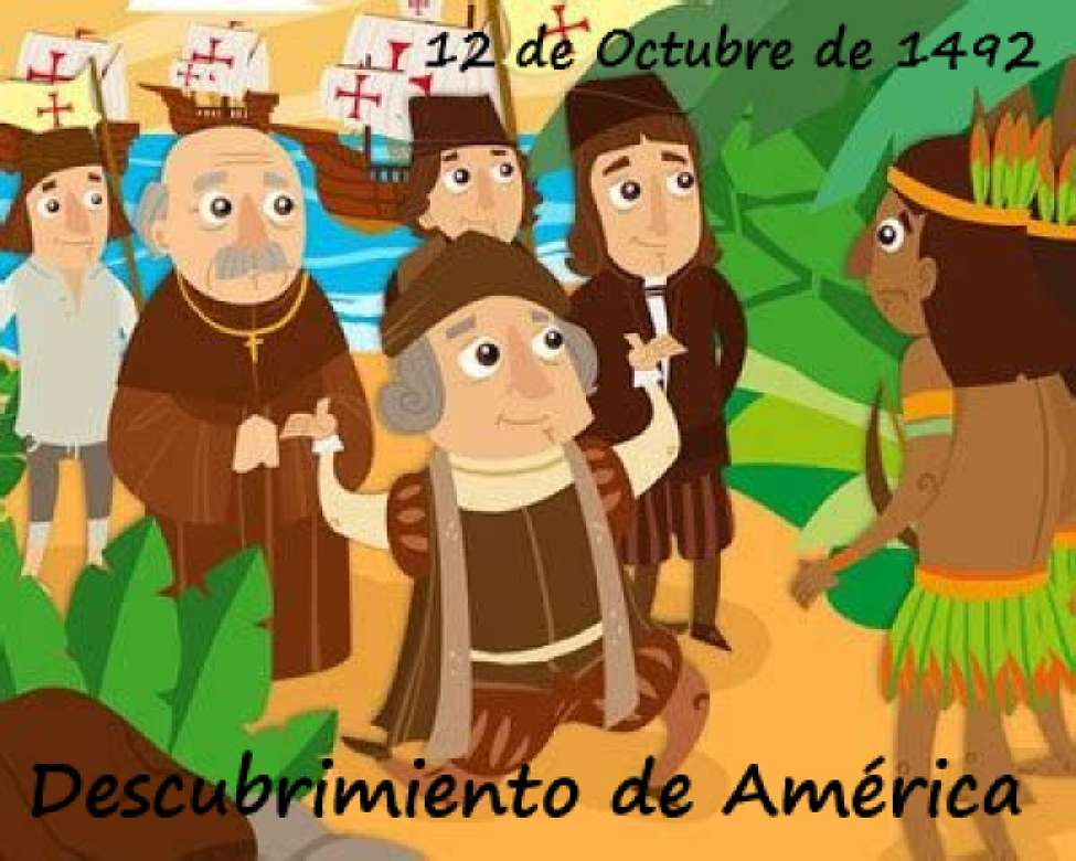 Christopher Columbus - discovery of America (5×4)