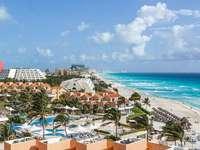 Cancun beach - beach in Cancun, Mexico
