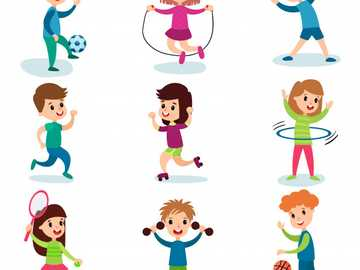 Physical education - Solve as quickly as possible