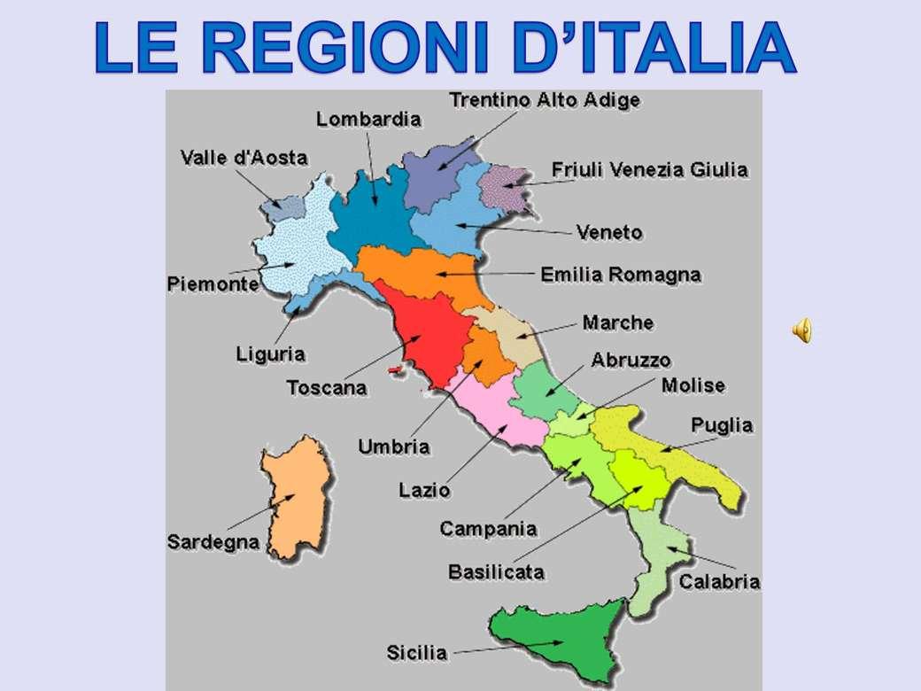Cartina Dellitalia Regioni.Mappa Dell Italia Play Jigsaw Puzzle For Free At Puzzle Factory