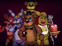 five nights at freddy´s animatronica