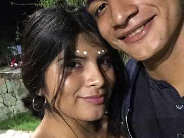 Amorrangelymari - Es foto para el aniversario con mi novio