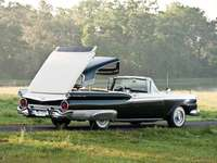 1959 Ford Fairlane Skyliner - The Ford Fairlane 500 Skyliner is a two-door full-size car with a retractable hardtop that was produ