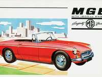 MGB Roadster - MG MGB Roadster, 1963. The MGB was in production from late 1962 until 1980 and then re-entered produ