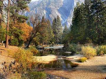 Yosemite Park - in the beautiful Yosemite Park