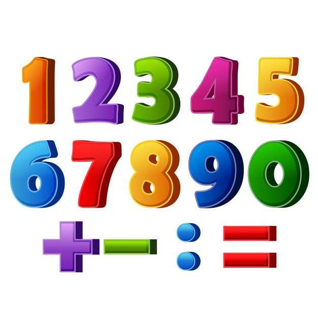 Números coloridos - M (9×9)