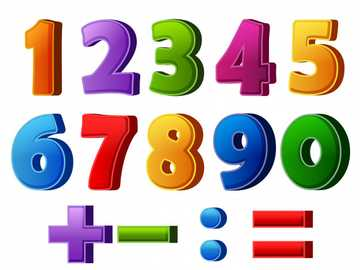 Colorful numbers - M ......... ...............