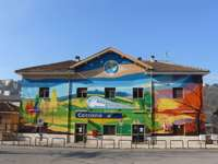 Ceccano train station Lazio region Italy - Ceccano train station Lazio region Italy