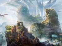 gury fantazji - pienkny krajobraz gor