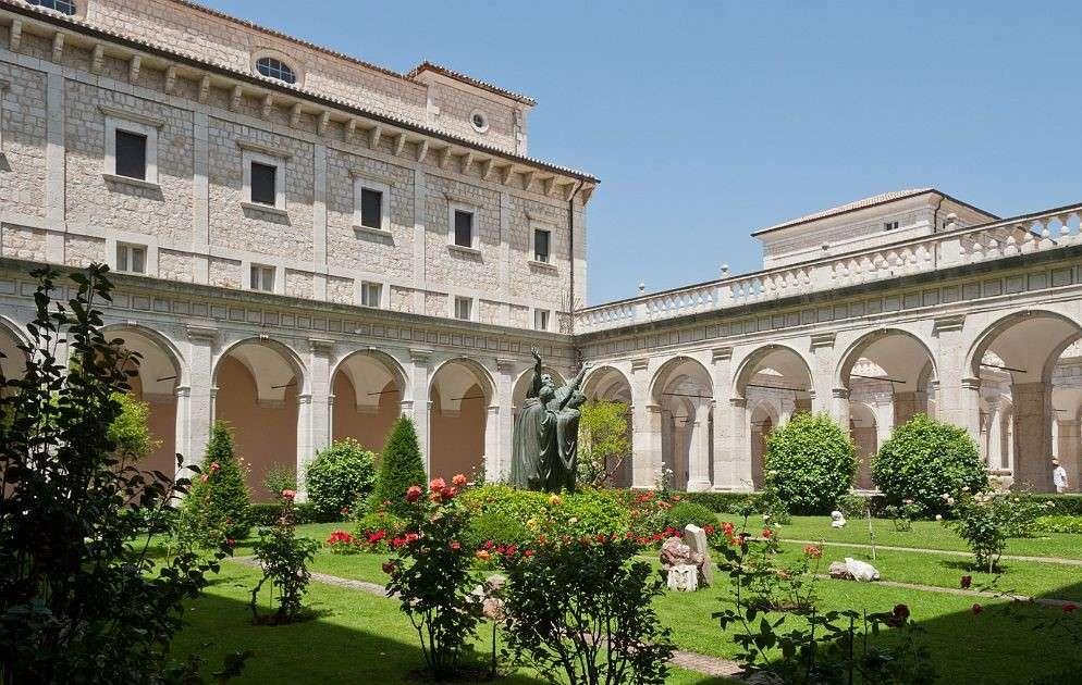 Monte Cassino Abbey Lazio Region Italy