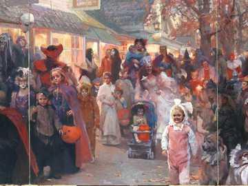 Halloween parade - Hongnian Zhang - Halloween Parade