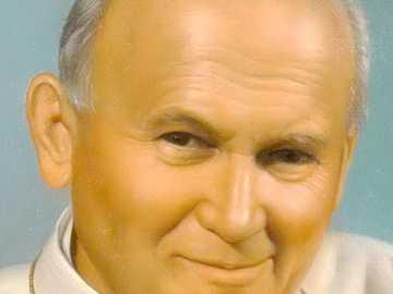 Johannes Paul 2 - Vater von St. Papst Johannes Paul II