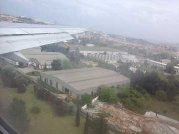 luchthaven - uitzicht op de luchthaven van Lissabon