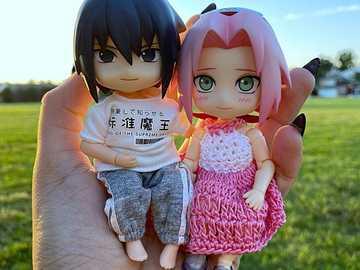 Sasuke Sakura - Sasuke y Sakura vestidos a la moda kawaii