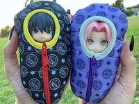Sasuke Sakura - Sasuke et Sakura ont bien chaud