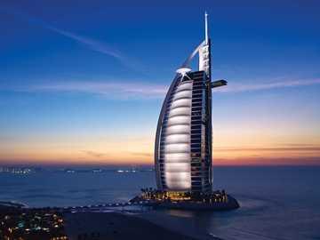 Burj Al Arab - This Is A Photo Of A Hotel In Dubai.