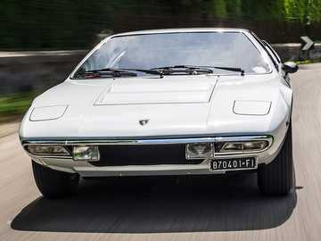 1970 Lamborghini Urraco P250 - Lamborghini is celebrating the 50th anniversary of the mid-engined 2+2 Urraco that was first present
