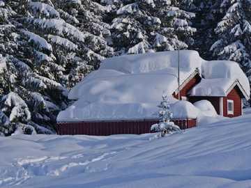 <<Зима>> - Пейзаж пъзел.