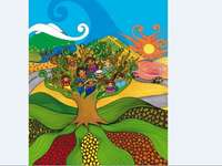 Cultural diversity tree image - October 12 °. Respect for Cultural Diversity Day