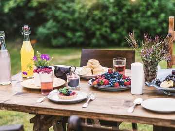 Café da Manhã no jardim - M ......................