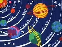 sistema solar - trabajo en clase trabajando en el espacio