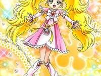 九條光(夏妮露米納斯Shiny Luminous) - 第二部光之美少女Max Heart主角之一,突然在美墨莎莎和雪城乃香面前出現的�