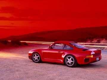 Retro Porsche - This Is A Photo Of A Sports Car
