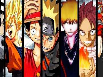 Ποικιλία Anime - αυτό είναι το πρώτο μου προσαρμοσμένο παζλ, ελπίζω να σ
