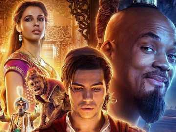 Aladdin și lampa - geniu malefic abu și iasomie