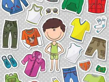 BOY PUZZLE - MOJE FUNNY PUZZLE