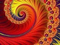 Fraktál művészet több színben