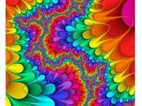 Kolorowa gra kolorów. Fractale art - Kolorowa gra kolorów. Fractale art