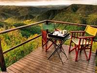 Blick von der Terrasse - M .....................
