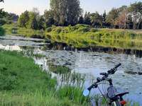 Lago Łacha - Viaje en bicicleta foto - Polonia- Józefów - lago Łacha