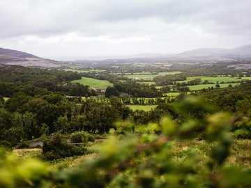 Piękny widok na Connemara