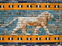 Λεπτομέρειες για την Πύλη Ishtar στο Μουσείο της Περγάμου, Βερολίνο