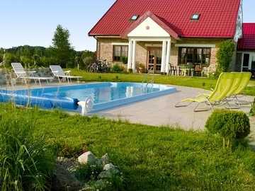 Chata s bazénem - M ..........................