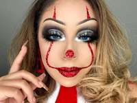 Halloween - Maquillage d'Halloween