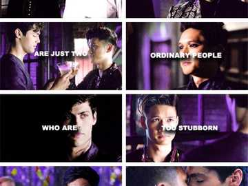 #malec #soulmates - maybe soulmates are just two ordinary people who are to stubborn to let the world pull them apart