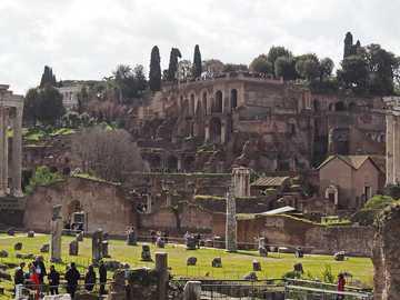 Forntida Rom-palatset i Tiberius - Forntida Rom-palatset i Tiberius