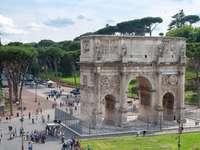 Konstantinův oblouk starověkého Říma - Konstantinův oblouk starověkého Říma
