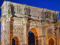 Oude Rome Boog van Constantijn