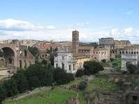 Oude sites van Rome in de stad
