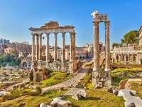Római ősi helyek a városban
