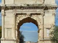 Arco de Tito da Roma Antiga - Arco de Tito da Roma Antiga