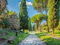 Forntida Rom Appian Way